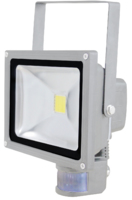 SKYLINE LED PIR FLOODLIGHT  240V 20WATT WARM WHITE 2700K IP65