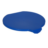 Detectable Foodgrade Production Bucket Lid - Blue