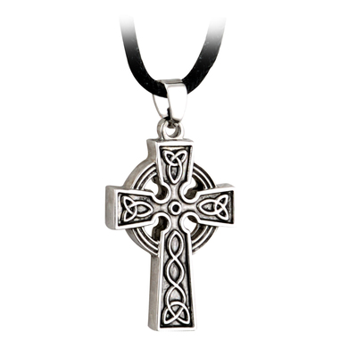ANTIGUED CELTIC CROSS PENDANT