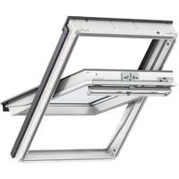 VELUX WINDOW 550X1180MM WHITE PAINT CK06 2070 CENTRE-PIVOT (55 x 118 CM)