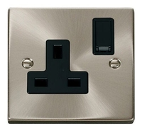 13A 1 Gang DP Switched Socket Outlet
