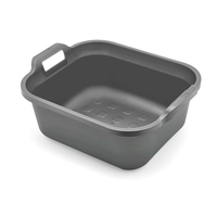 Addis Washing up bowl Metallic