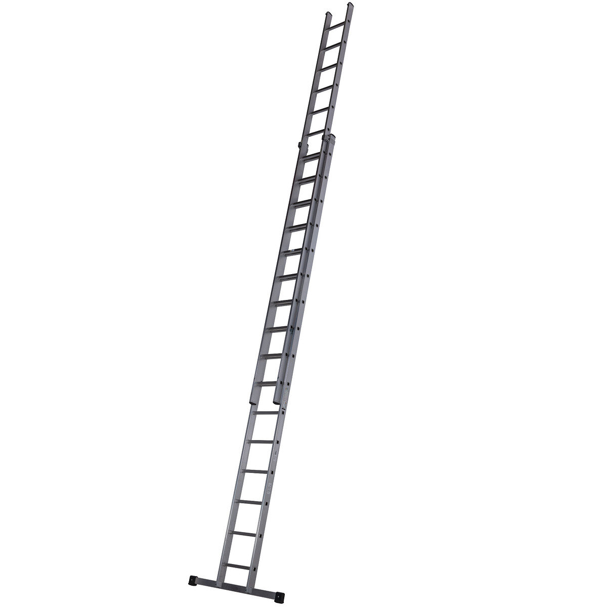 YOUNGMAN TRADE 200 2 SECTION EXTENSION LADDER 2.51M