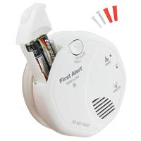 Wireless Smoke Alarm With Battery