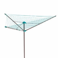 Beldary 26m Outdoor Rotary Clothes Airer Turquoise