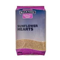 Bucktons Bird Feed Sunflower Hearts 20kg