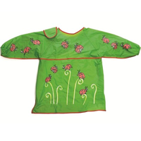 children's ladybird art apron