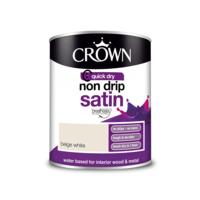 Crown Non-Drip Satin Beige White 750ML