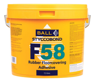F58 Adhesive For Rubber Flooring