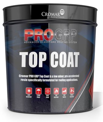 Cromar Pro GRP Fibreglass Top Coat 10kg