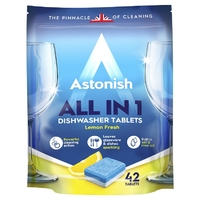 Astonish Dishwasher Tablets 42 pk