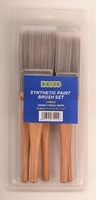 Dosco 5 Pack Synthetic Paintbrush Set
