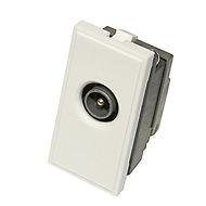 Triax Single TV IEC (M) Insert White (304252)