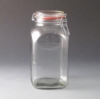 2.5 Litre Clip top kilner/Storage jar