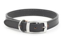 "Ancol Heritage Leather Collar Black 18"" x 1"
