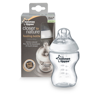 Tommee Tippee Closer To Nature Single Bottle 0Months 260ml