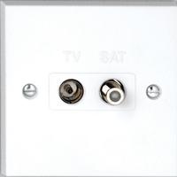 Vimark Twin Satellite & TV Socket