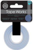 Tape Glitter Solid Blue (Priced in singles, order in multiples of 4)