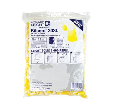 Howard Leight Bilsom 303L Ear Plug Dispenser Refill (Bag 200) for EPHLD