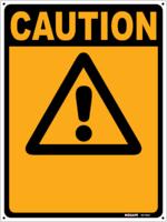 CAUTION Sign (Custom Text)