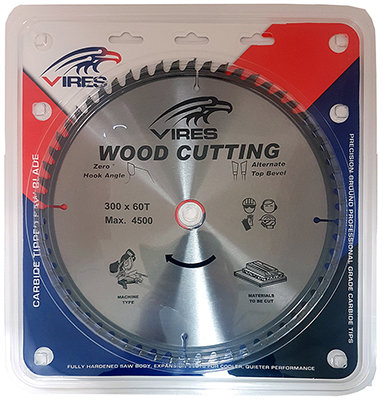 Tct Chopsaw Blade 300mm T60 30mm Bore Vires We Ve Got Every Job Covered Bnr Limited