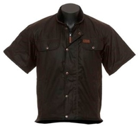 Outback 6037 Short Sleeved Oilskin Vest