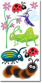 Bugs Large Essential Craft Sticker. (Priced in singles, order in multiples of 6)