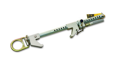 Fixed Beam Anchor fits 6.3 to 60.9cm wide I-beams