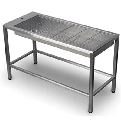 Purfect Tub Table Shallow St/St