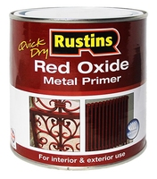 RUSTINS RED OXIDE METAL PRIMER 250ML