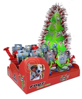 Rogz Flossy Grinz Festive Christmas Dog Toy Shipper of 15 Toys