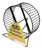 Fuzzballs Metal Hamster Wheel on Stand x 1