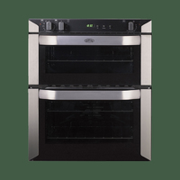 Belling BI70FP Electric Double Oven - Stainless Steel