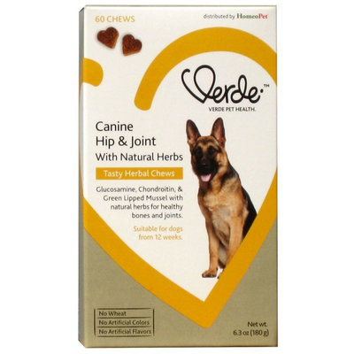 Verde Canine Hip & Joint 60 Chews x 1
