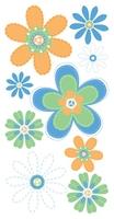 Daisy Bouquet Essential Craft Sticker.