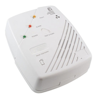 EI261ENRC Mains Carbon Monoxide Alarm Battery Backup