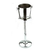 Jumbo Round Champagne Cooler Stainless Steel