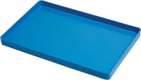 INSTRUMENT TRAYS PLASTIC RED NO RACK