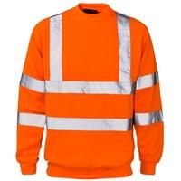 Supertouch Hi-Visibility Sweatshirt, Orange