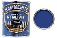 5092826 HM METAL PAINT SMOOTH BLUE 750ML