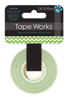 Tape Chevron Green (P/Sing order units of 4)