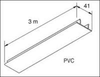 UNISTRUT PVC LID WHITE 3MT(PVCLID)