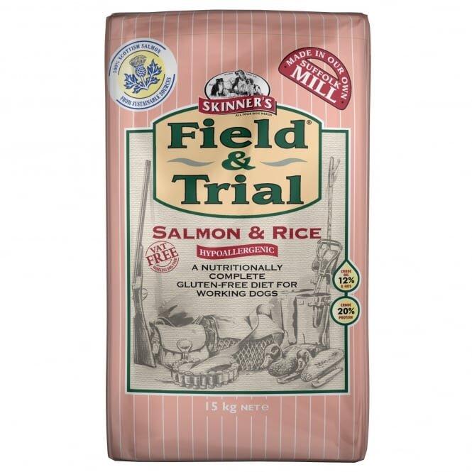 Skinners Field & Trial Salmon & Rice 15kg