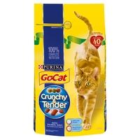 Go-Cat Crunchy & Tender Salmon Tuna & Veg 1.5kg