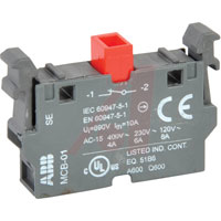 ABB MCB 01 NC Contact Only