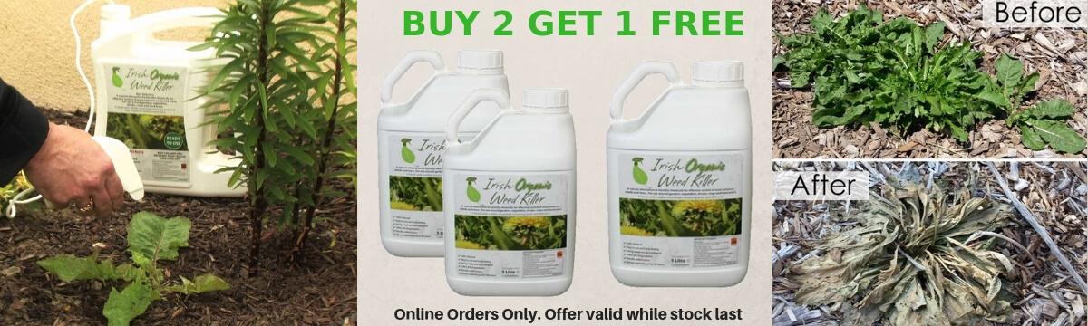 Weed killer buy2 get 1 free