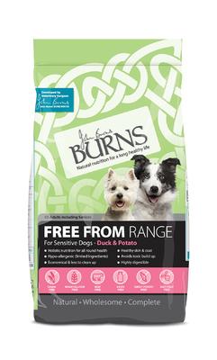 Burns 'Free From' Grain Free Adult - Duck & Potato 6kg