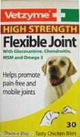 Vetzyme Flexible Joint Tablets - High Strength 30 Tab x 1