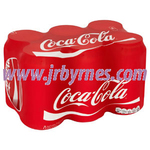 330 Coke Can 6pk x4