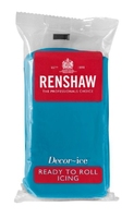 RENSHAW READY TO ROLL ICING TURQUOISE  (12 X 250g)